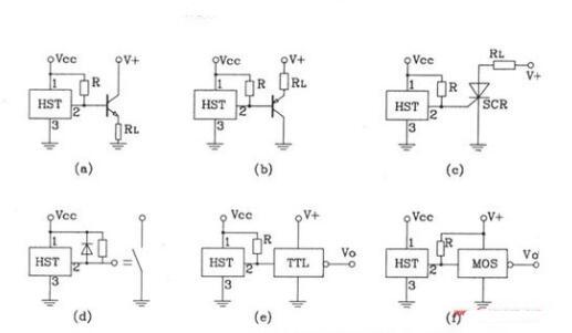 霍尔元件的输出电压一般较小,需要用放大电路放大其输出电压.