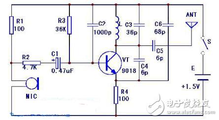 调频(fm)发射机电路图大全(调频收音机/调频中频/兆瓦无线电发射机